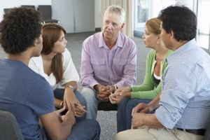 Alcoholics Anonymous for employees therapy session